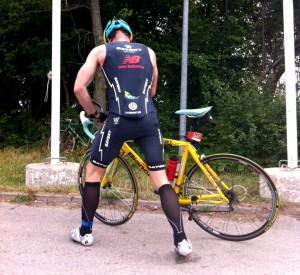 Start på cykelruten