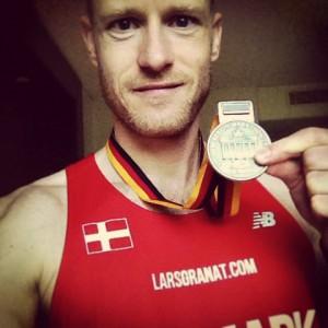 Medalje fra Berlin Marathon 2014