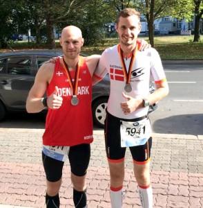 Sejrsselfie med Jacob efter Berlin Marathon