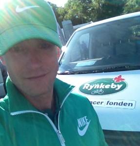 Klar til afgang med Team Rynkeby