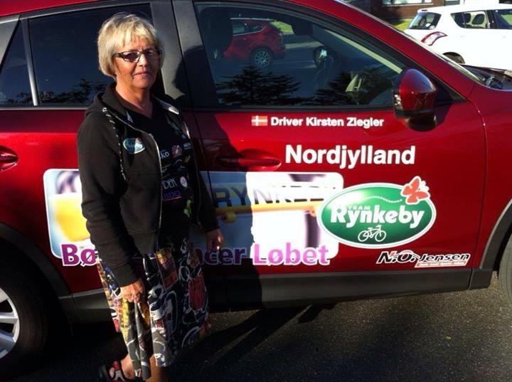 Kirsten Ziegler - chef for Team Rynkeby Nordjyllands servicehold